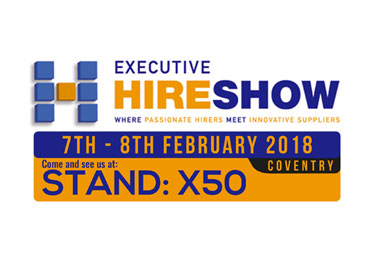 7th - 8th February 2018 Exhibition at Executive Hire Show - Coventry