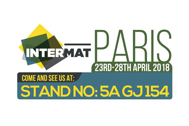 23rd - 28th April 2018 Exhibition at InterMat Show - Paris