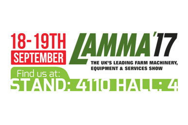16th Jan 2017: Exhibiting at the Lamma 2017 Show